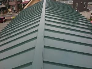 青葉児童館屋根