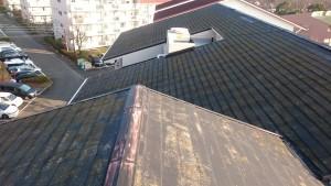 厚木市森の里集合住宅屋根塗装工事