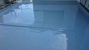 ウレタン防水施工後