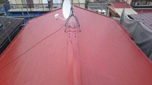 使用材料 屋根用高日射反射率塗料快適サーモバイオ