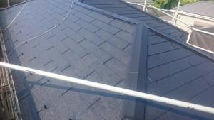 屋根仕上げ2回塗り