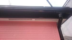 軒天破風塗装